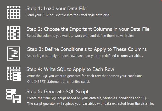Gryphon SQL Steps
